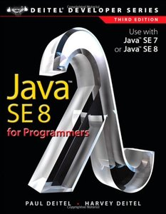 Java SE8 for Programmers, 3/e (Paperback)-cover