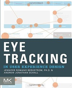 Eye Tracking in User Experience Design (Paperback)-cover