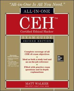 CEH Certified Ethical Hacker All-in-One Exam Guide, 2/e (Paperback)-cover