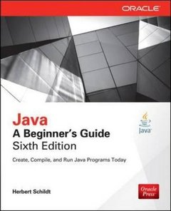 Java: A Beginner's Guide, 6/e (Paperback)-cover