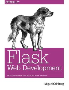 Flask Web Development: Developing Web Applications with Python (Paperback)-cover