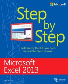 Microsoft Excel 2013 Step By Step-cover