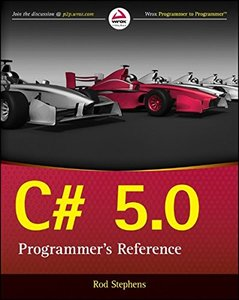 C# 5.0 Programmer's Reference (Paperback)-cover
