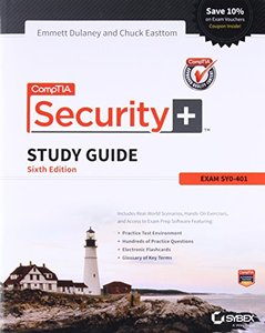 CompTIA Security+ Study Guide: SY0-401, 6/e (Paperback)-cover