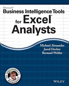 Microsoft Business Intelligence Tools for Excel Analysts (Paperback)-cover