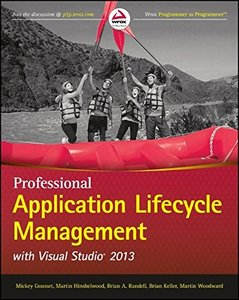 Professional Application Lifecycle Management with Visual Studio 2013, 3/e (Paperback)-cover