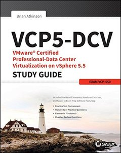 VCP5-DCV VMware Certified Professional-Data Center Virtualization on vSphere 5.5 Study Guide: VCP-550, 2/e (Paperback)-cover