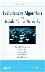 Evolutionary Algorithms for Mobile Ad hoc Networks (Hardcover)-cover