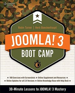 Joomla! 3 Boot Camp: 30-Minute Lessons to Joomla! 3 Mastery (Paperback)-cover