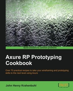 Axure RP Prototyping Cookbook-cover