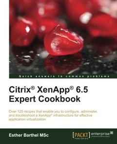 Citrix® XenApp® 6.5 Expert Cookbook-cover