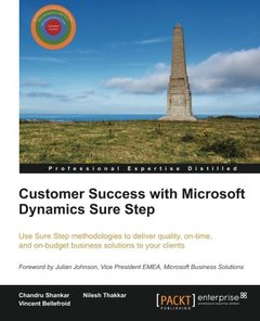 Customer Success with Microsoft Dynamics Sure Step-cover