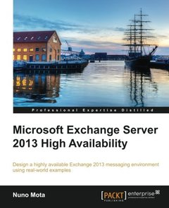 Microsoft Exchange Server 2013 High Availability-cover