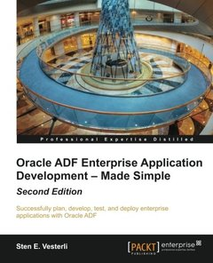 Oracle ADF Enterprise Application Development – Made Simple,  2/e(Paperback)-cover