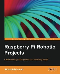 Raspberry Pi Robotic Projects (Paperback)-cover