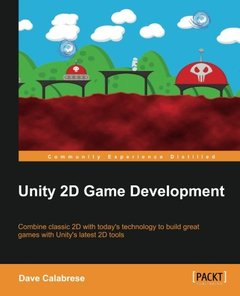 Unity 2D Game Development (Paperback)-cover