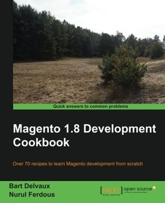 Magento 1.8 Development Cookbook, 2/e (Paperback)-cover