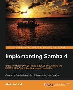 Implementing Samba 4-cover
