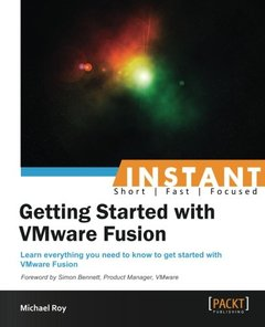 Getting Started with VMware Fusion-cover