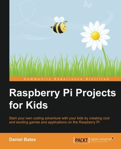 Raspberry Pi Projects for Kids-cover