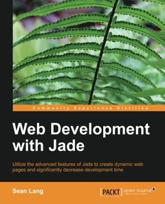 Web Development with Jade-cover