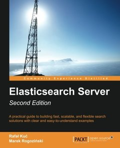 ElasticSearch Server, 2/e (Paperback)-cover