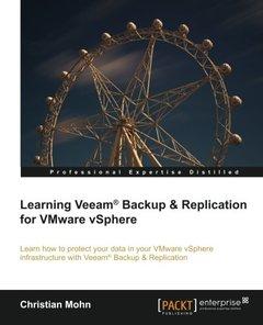 Learning Veeam® Backup and Replication for VMware vSphere-cover