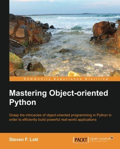 Mastering Object-oriented Python (Paperback)-cover