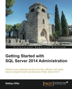 Getting Started with SQL Server 2014 Administration-cover