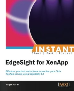 Instant EdgeSight for XenApp-cover