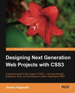 Designing Next Generation Web Projects with CSS3-cover