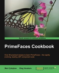 PrimeFaces Cookbook (Paperback)-cover