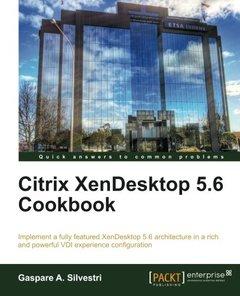 Citrix XenDesktop 5.6 Cookbook-cover