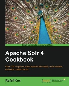 Apache Solr 4 Cookbook-cover