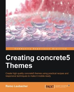 Creating Concrete5 Themes-cover