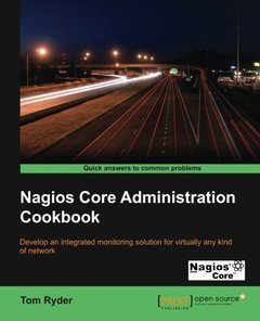 Nagios Core Administration Cookbook-cover