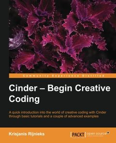 Cinder - Begin Creative Coding-cover