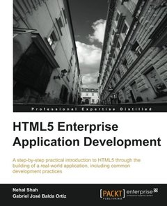 HTML5 Enterprise Application Development-cover