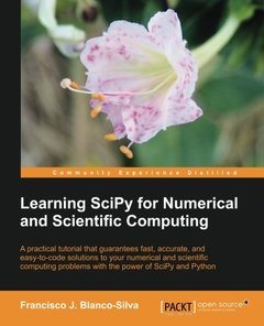 Learning SciPy for Numerical and Scientific Computing-cover