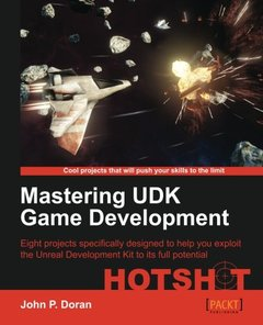Mastering UDK Game Development-cover