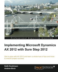Implementing Microsoft Dynamics AX 2012 with Sure Step 2012-cover