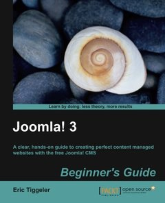 Joomla! 3 Beginner's Guide-cover