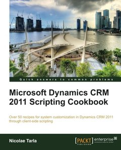 Microsoft Dynamics CRM 2011 Scripting Cookbook-cover