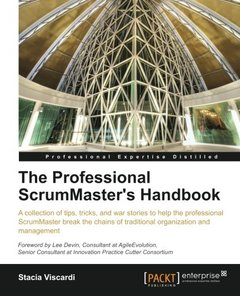 The Professional ScrumMaster's Handbook (Professional Expertise Distilled)-cover