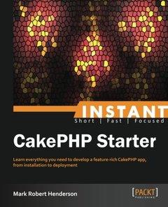 Instant CakePHP Starter-cover