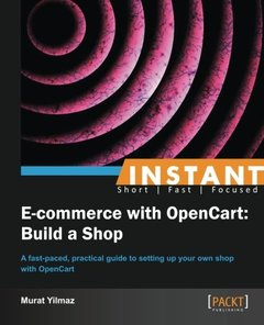 Instant E-commerce with OpenCart: Build a Shop-cover