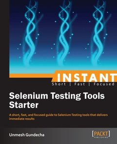Instant Selenium Testing Tools Starter-cover