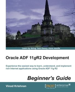 Oracle ADF 11gR2 Development Beginner's Guide-cover