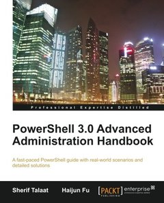 PowerShell 3.0 Advanced Administration Handbook-cover