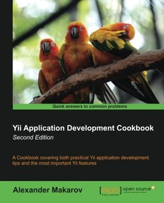Yii Application Development Cookbook,  2/e(Paperback)-cover